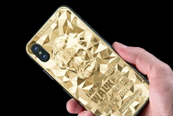 Caviar推出总统日限量黄金版iPhone XS/XS Max