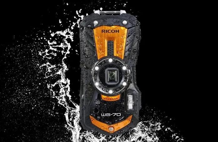 理光发布WG-70坚固型相机新品 支持水下微距拍摄