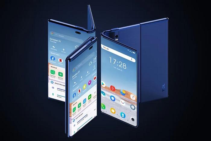 TCL放出Fold'n Roll概念:6.87英寸手机可变身10英寸平板