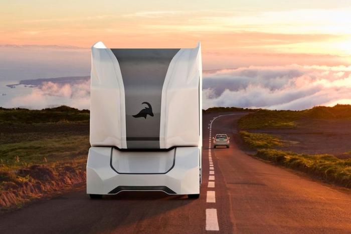 未来的无人驾驶卡车 更像是强大的装载机器人