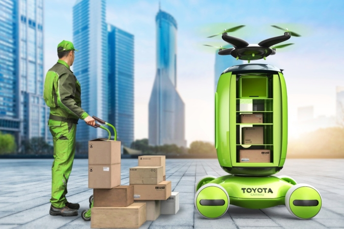 丰田也玩跨界 未来智能物流又一解决方案