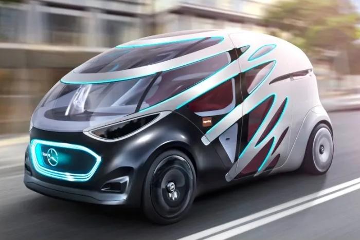 """""""丑出天际"""" 奔驰推出可变形的无人驾驶概念车"""