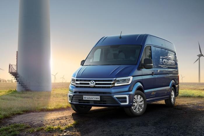 大眾發布氫燃料貨車 續航可達500公里