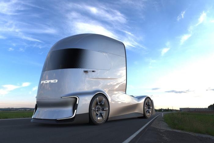 福特電動半掛卡車具備4級自動駕駛功能