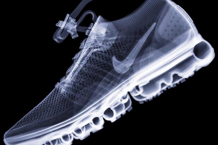 想知道您最喜爱的运动鞋拍过X光后的样子么