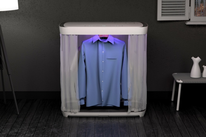 折叠式烘干机解决冬日晾衣难题