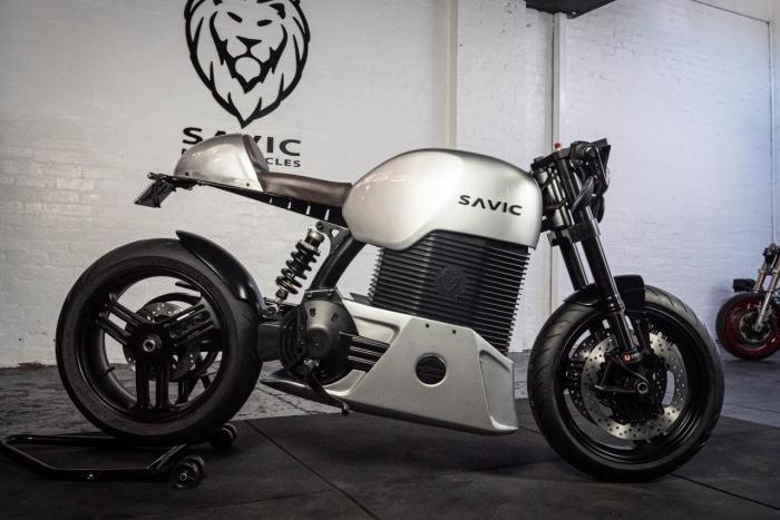澳大利亞公司Savic Motorcycles發布全新電動摩托車