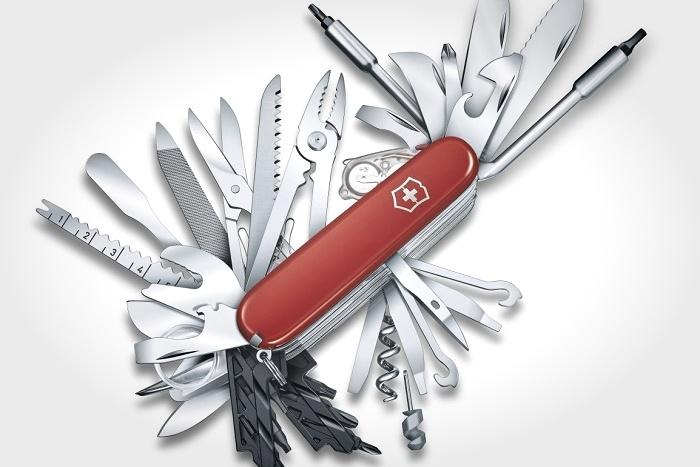 维氏推新款瑞士军刀:61种工具+73种功能 售315.99美元