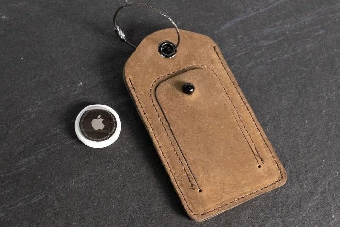 皮革厂发布AirTag钥匙扣和行李牌 售价25/49美元