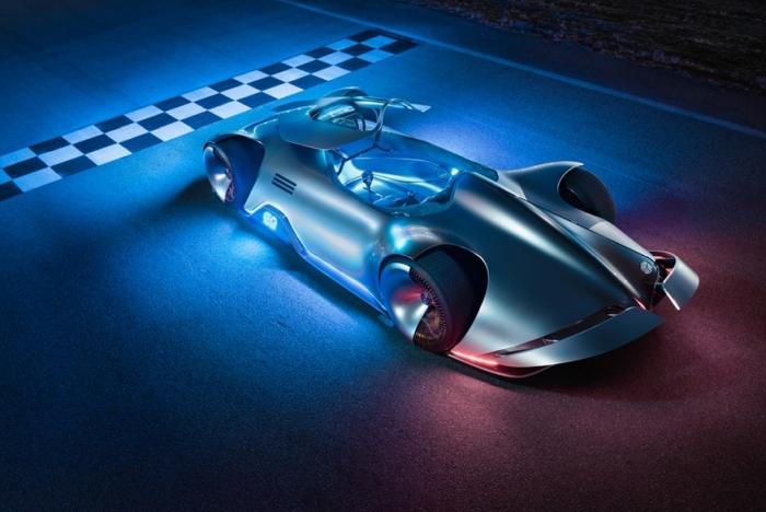 梅赛德斯银箭概念电动赛车发布 续航达400公里