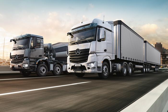 奔驰发布新款Actros卡车:可半自动驾驶辅助