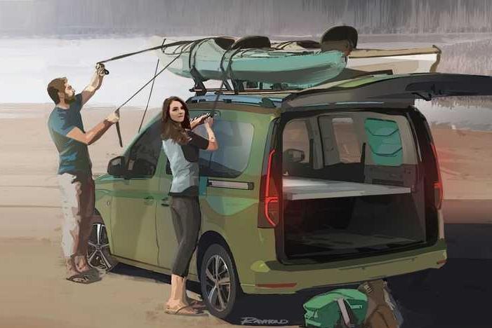 大众发布全新露营车:虽小但可扩展