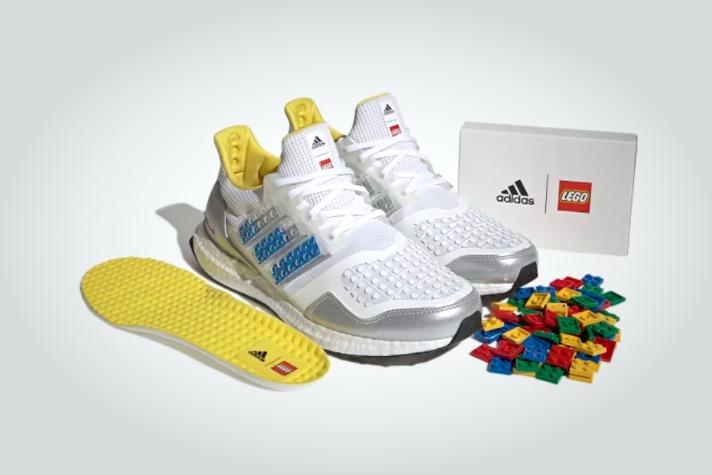 阿迪达斯推新款Ultraboost DNA跑鞋 可用乐高积木定制