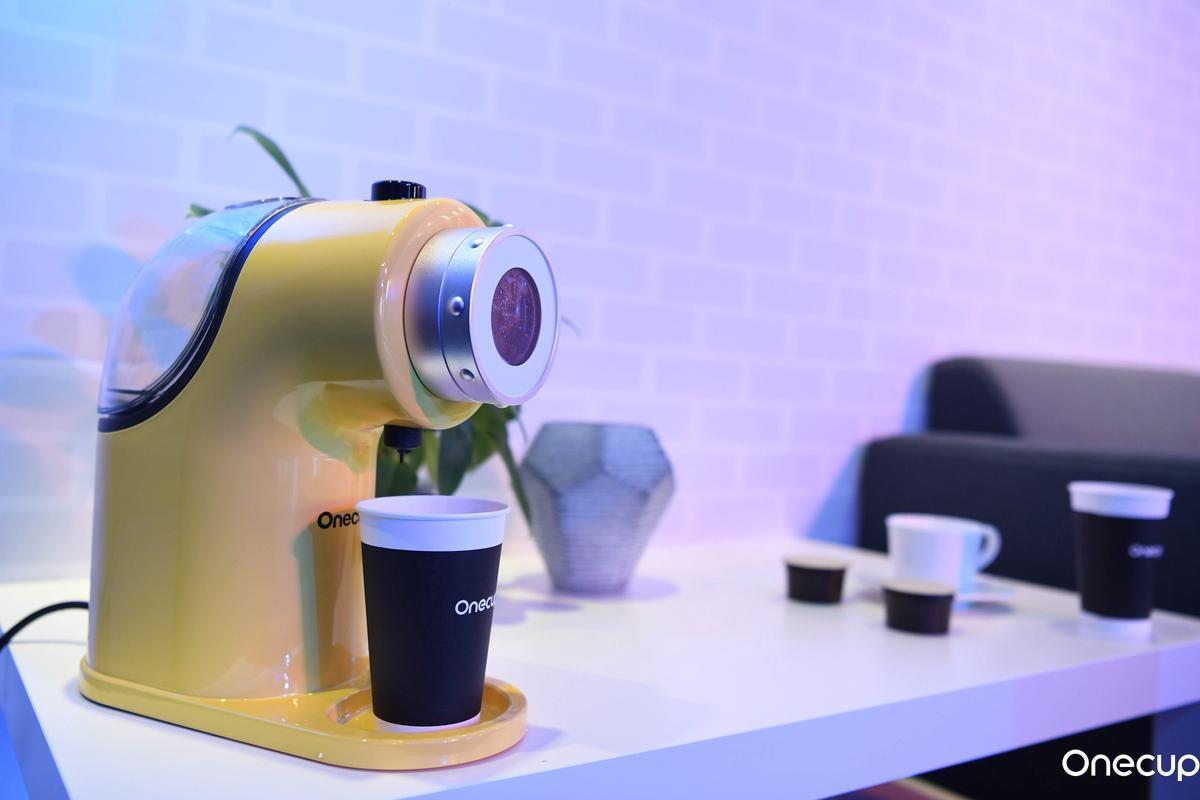 Onecup推胶囊饮品机:可一键做咖啡、豆浆、奶茶