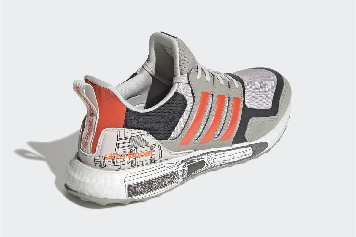 阿迪将推《星战》主题跑鞋 助你健步如飞