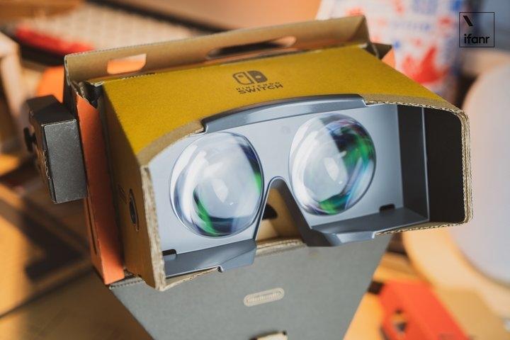 Switch VR纸盒上手玩 你应该买一套吗?