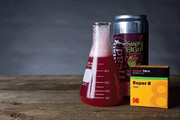 柯达推出一款奇葩啤酒 可以用来冲洗胶片