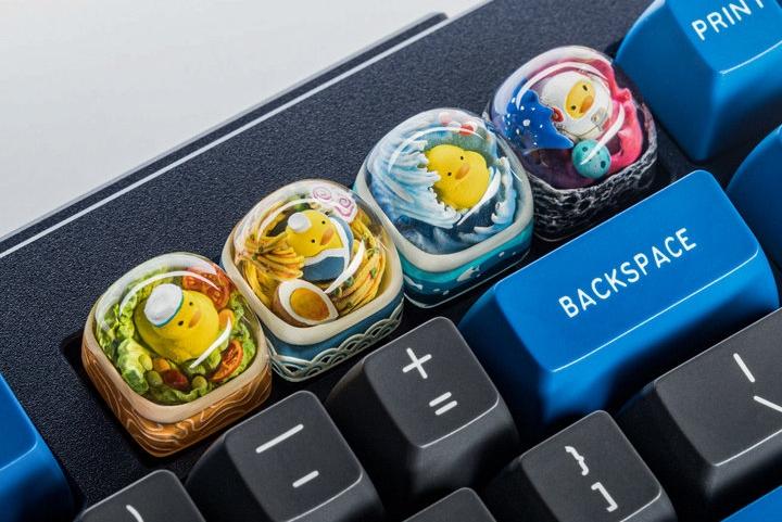 男人的奢侈艺术品 一套键盘可以换一个LV