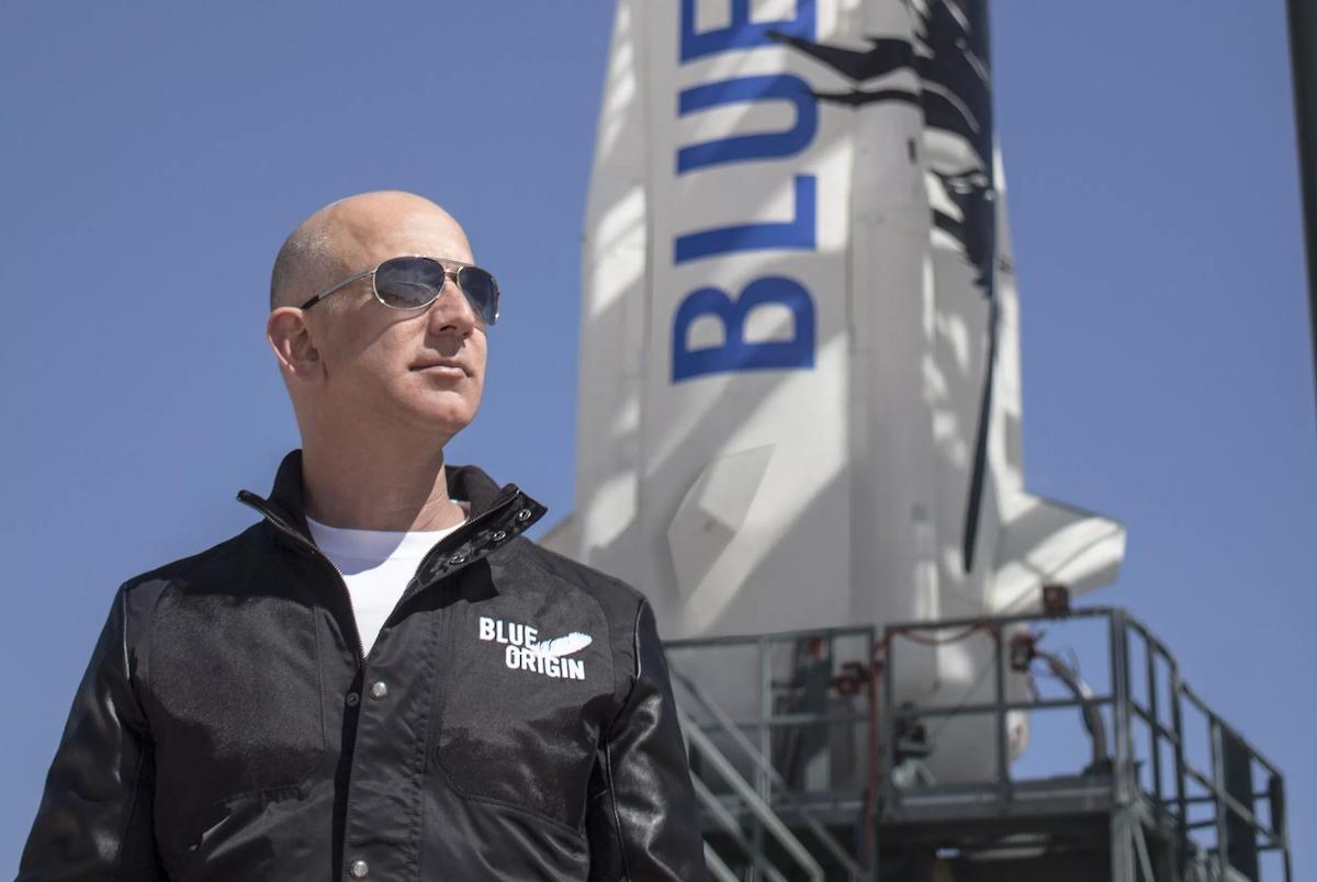 美国超4万人请愿:不要让超级富豪贝索斯太空旅行结束重返地球