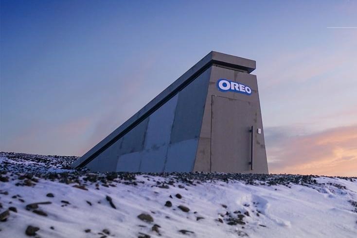 奥利奥在北极 创建了一座世界末日饼干库