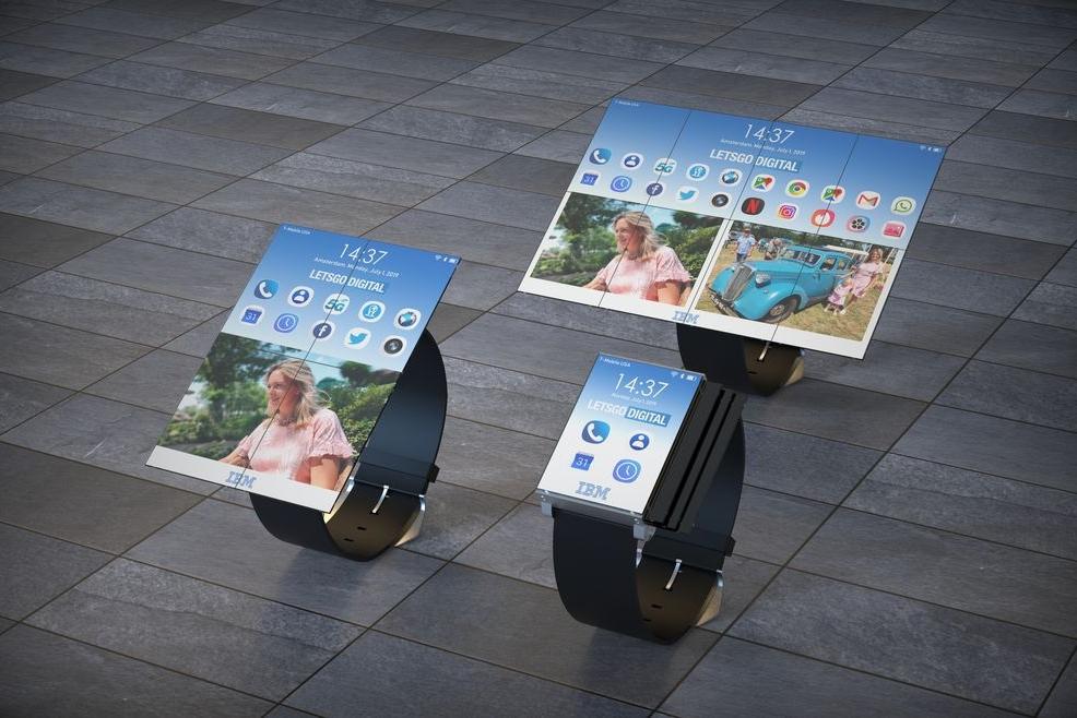 IBM脑洞专利:手表、手机和平板三重折叠转变