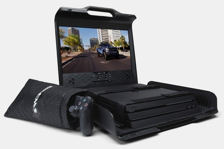 国外公司研发便携显示器 轻松携带主机外出游玩