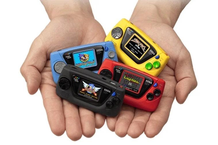 """世嘉60周年推""""新""""掌机 儿时的游戏机装进口袋"""