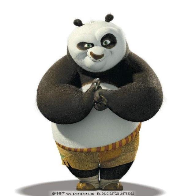 讲故事的熊猫