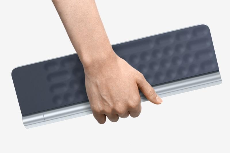 集成视网膜投射的键盘 未来电脑无需显示器