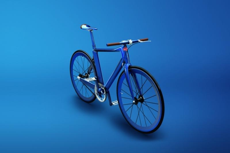 27万!布加迪威龙奢华自行车了解一下