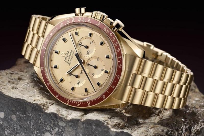 庆祝登月50周年 欧米茄推出纪念腕表