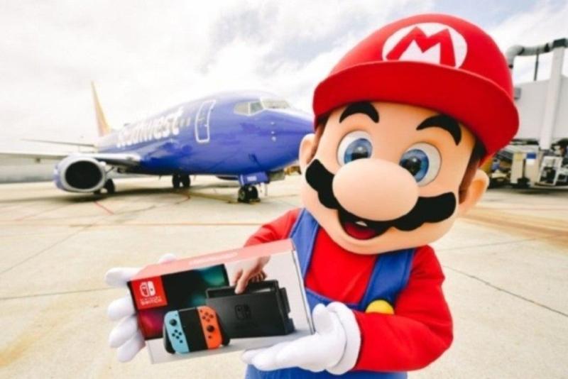 任天堂推出坐飞机抽Switch活动:每人都有份