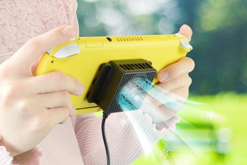 Switch专属降温外设上架 号称可降温13度