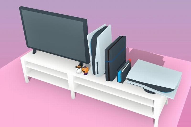 PS5主机究竟有多大?几张图就能看明白