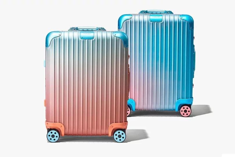 RIMOWA又出新联名 日落色旅行箱是什么样?