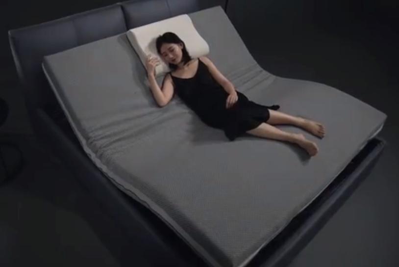 躺下自己动 小米生态链新品8H智能电动床来了