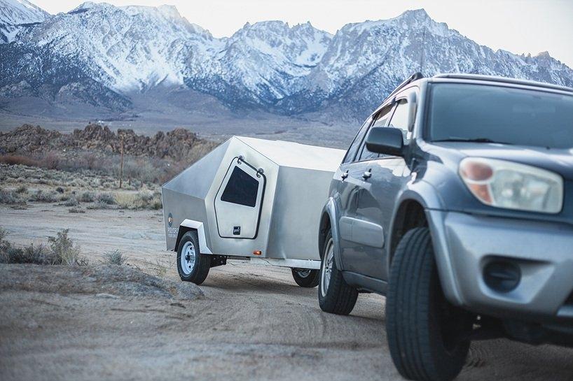 全新环保紧凑型拖车 带着房子去旅行