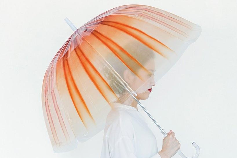超逼真水母雨伞 尽显清透梦幻之美