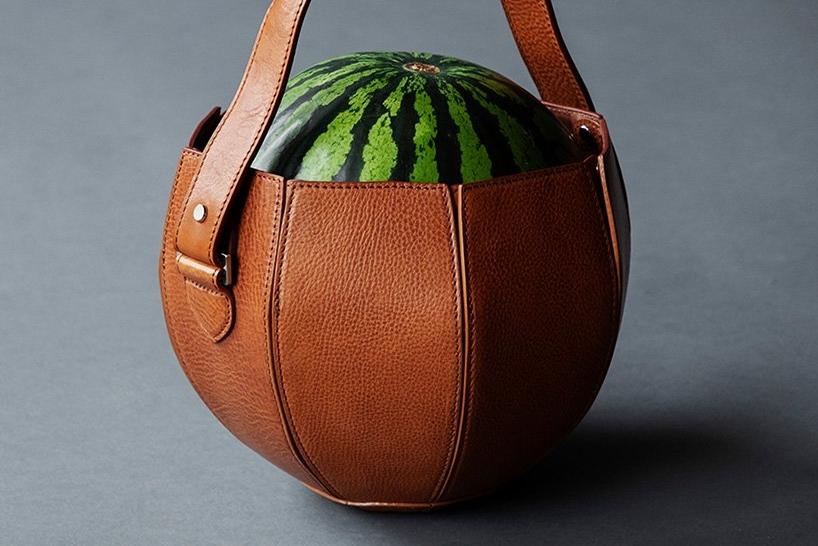 专门装西瓜的真皮手袋 你见过么