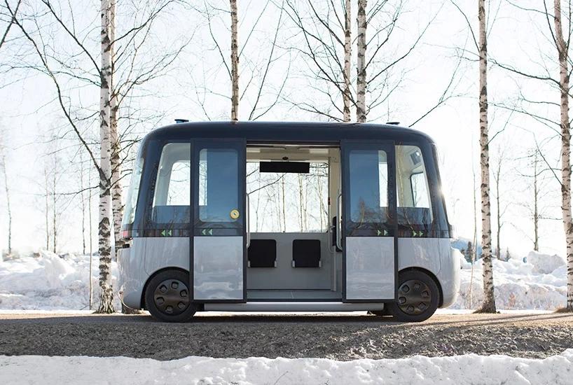 MUJI推出首款无人驾驶巴士 形似玩具太空舱