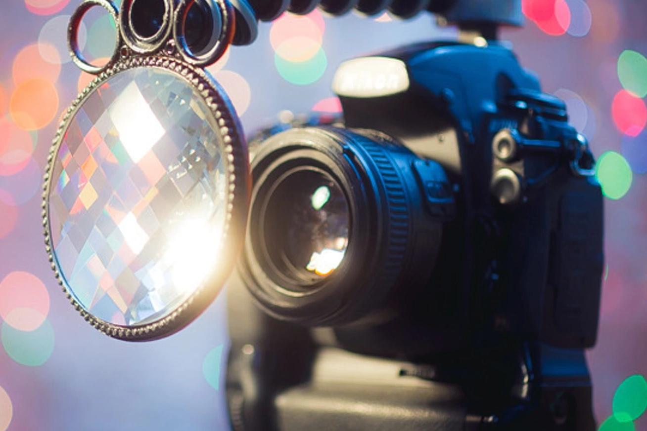 相机变成万花筒:用分形滤镜片拍出创意照片