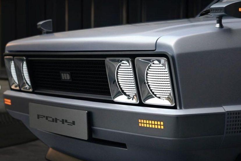现代打造Pony Heritage EV:一款全电动复古概念车