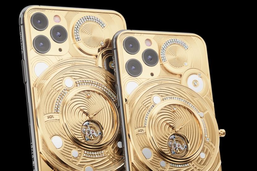 奢华定制版iPhone 11 Pro Max:背部加入500克黄金
