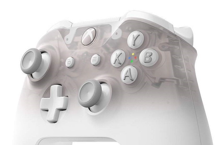 新Xbox手柄泄露 白色半透明设计令人惊艳
