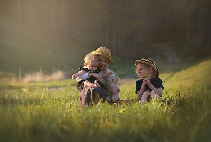 精致的儿童摄影 发现孩子们最天真可爱的面容