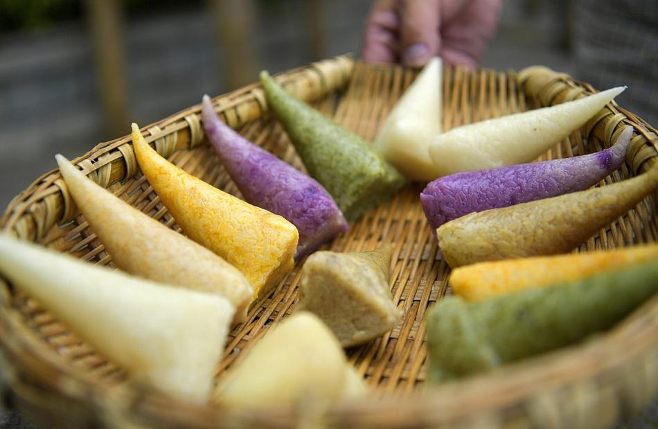 端午节粽子玩出新花样
