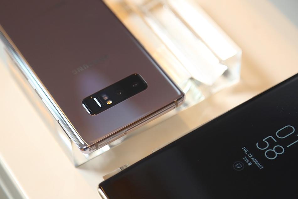 三星Note8实拍图集 S8的味道和Note7的精华