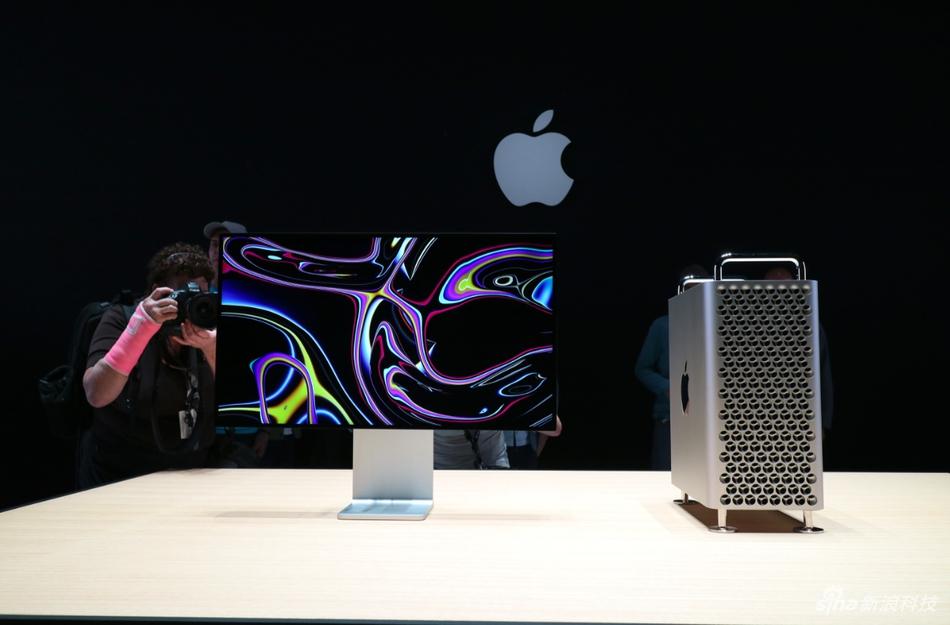 苹果最强电脑新Mac Pro现场实拍