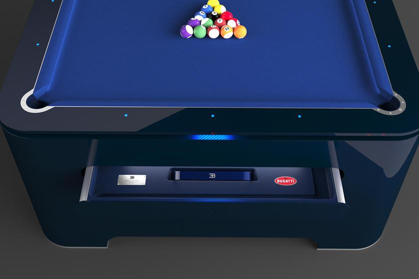 布加迪发布台球桌 售价30万美元造型别致