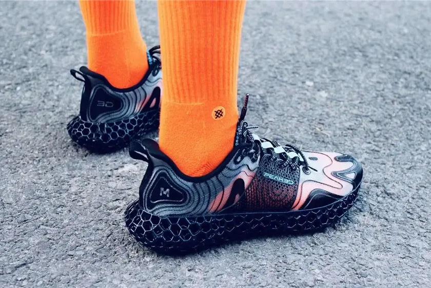 匹克第三代3D打印运动鞋来了 造型设计更酷炫